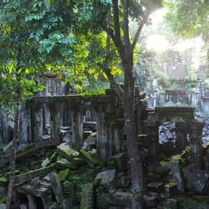 Exploring Beng Melea Temple and Tonle Sap Lake