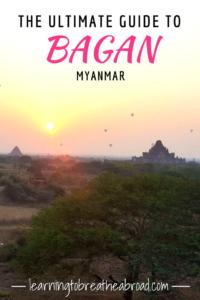 The Ultimate Guide to Bagan Myanmar