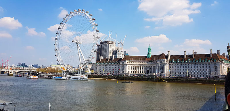 London in one day - London Eye